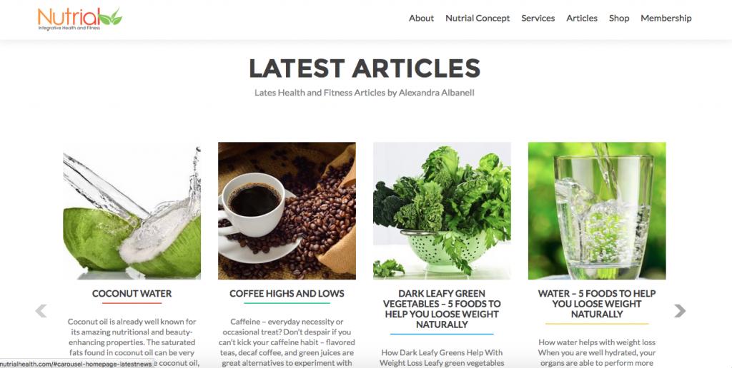 Nutrial Health News