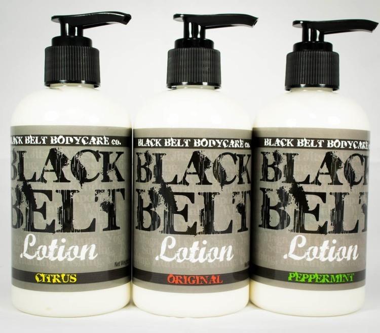 Black Belt Lotion