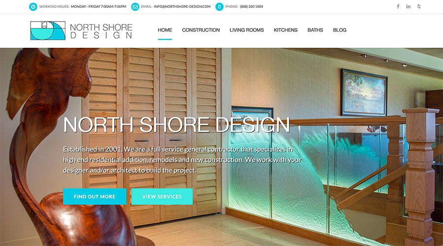 New Version of North Shore Design